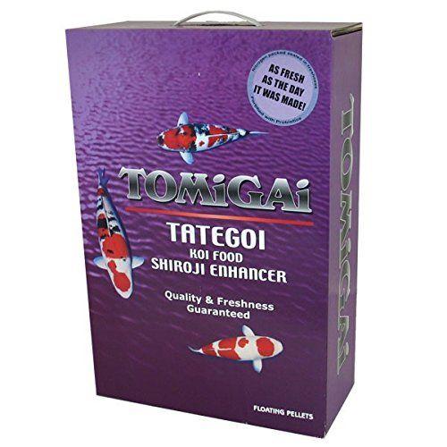 Tomigai Tategoi Shiroji Enhancer Koi Fish Food, 8lbs.