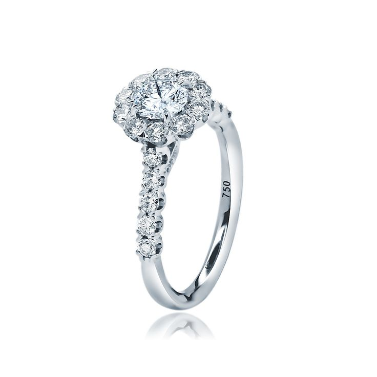 Christopher Designs Crisscut Diamond Engagement Ring. $5,990.