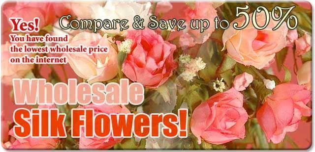 Wholesale Silk Flowers | Buy Artificial Gerbera Daisies, Silk Magnolia, Tulips, Orchids & Silk Daisy Flowers Online – GandGwebstore.com