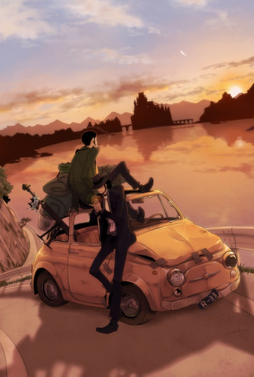 This drawing of Lupin the 3rd one of the best.