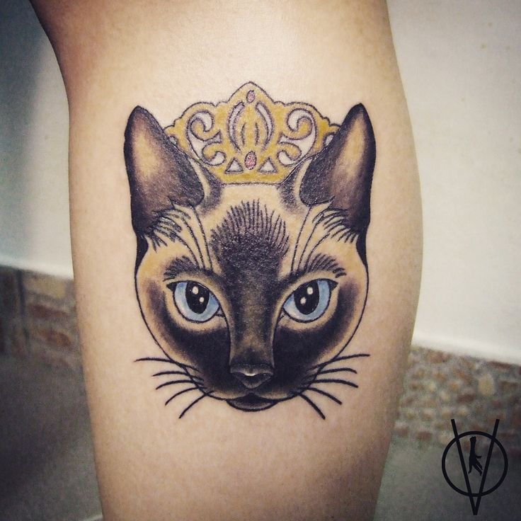 Siamese Cat Tattoo                                                                                                                                                      More