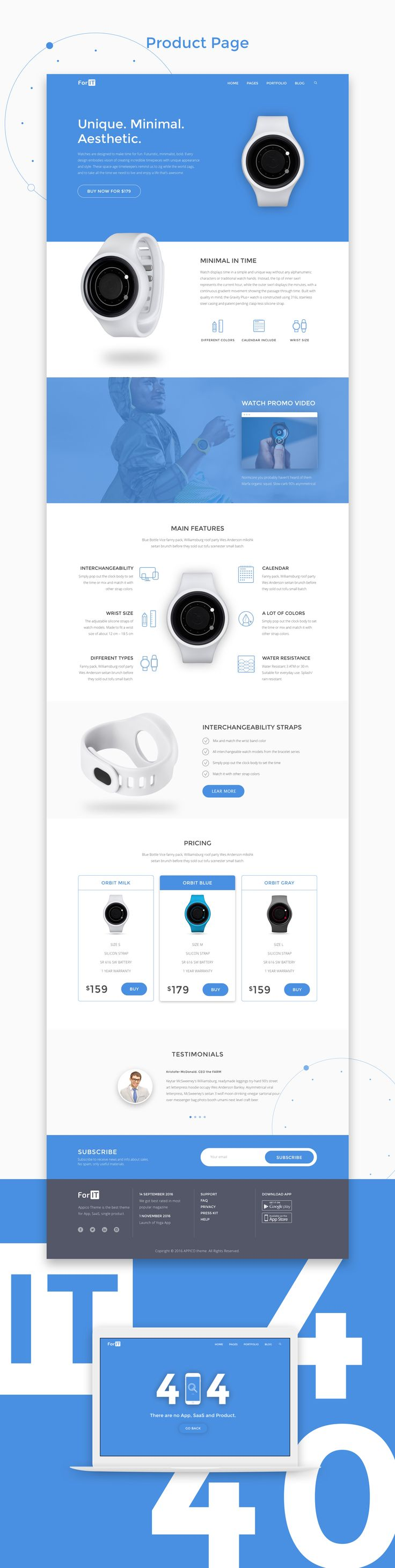 We created new WordPress theme for StartUps. We know how important to have good web for your new project and how difficult to do it. So... Behance case. Appreciate it, if you like: https://www.behance.net/iondigi Buy ForIT theme on Themeforest: https://themeforest.net/item/forit-startup-wordpress-theme-for-software-app-and-product/19183016?ref=Iondigital