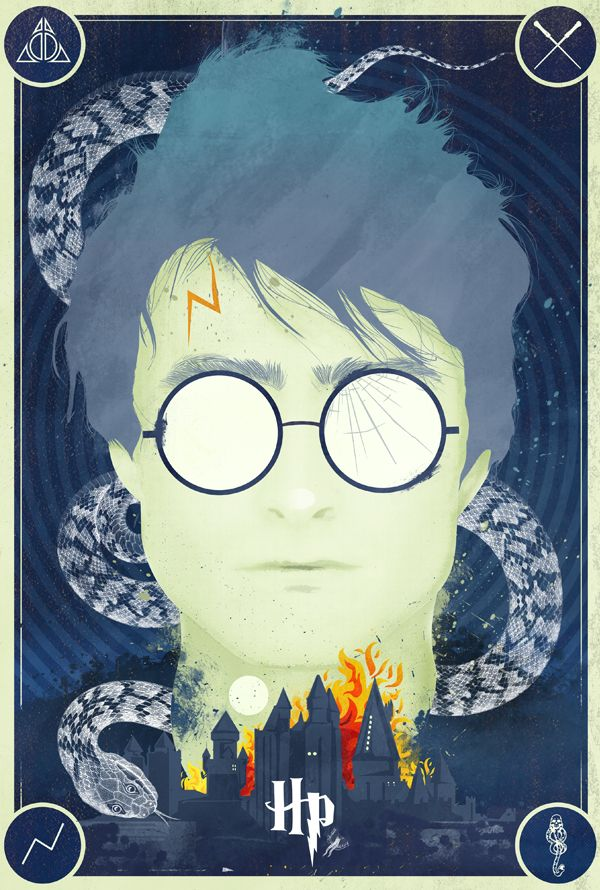 harry potter poster// foda