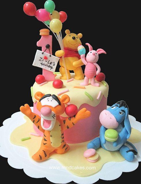 Piglet Cake Topper Tutorial