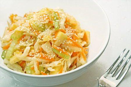 Салат из капусты - Рецепты салатов из капусты - Как правильно