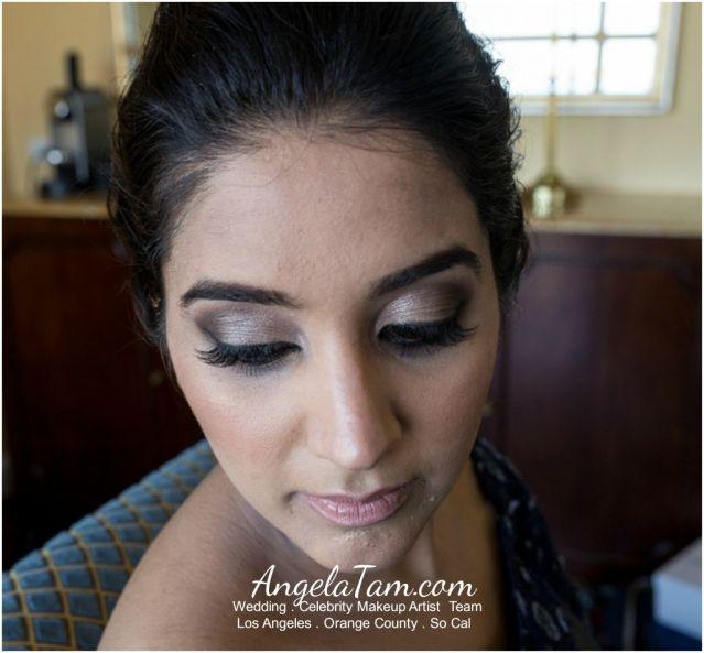 Ventura Indian South Asian Bride Sandeep Makeup Artist Angela Tam Celebrity
