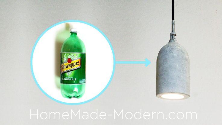 Homemade Modern, Episode 9 – DIY concrete pendant lamp