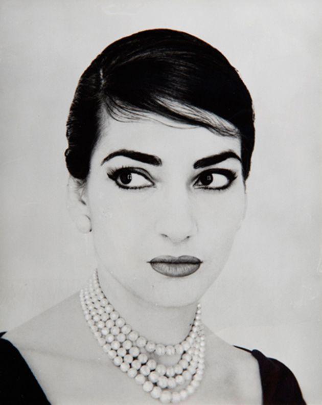 Jerry Tiffany, Ritratto fotografico di Maria Callas. New York, 1958 Collezione Ilario Tamassia