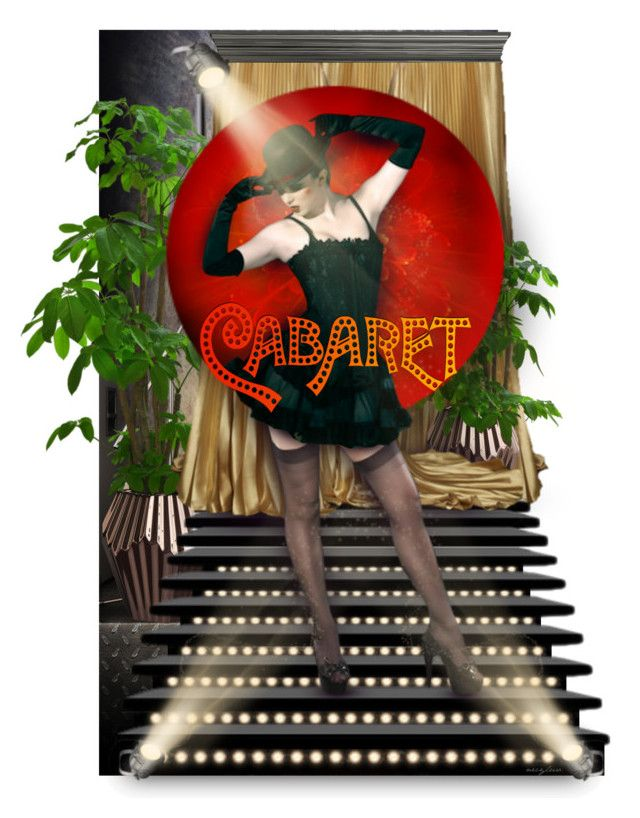"""Cabaret"" by necyluv ❤ liked on Polyvore featuring art"