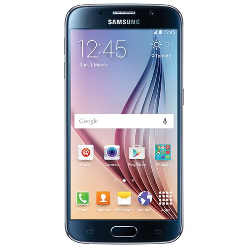 Bell Samsung Galaxy S6 32GB Smartphone - Black Sapphire - 2 Year Agreement