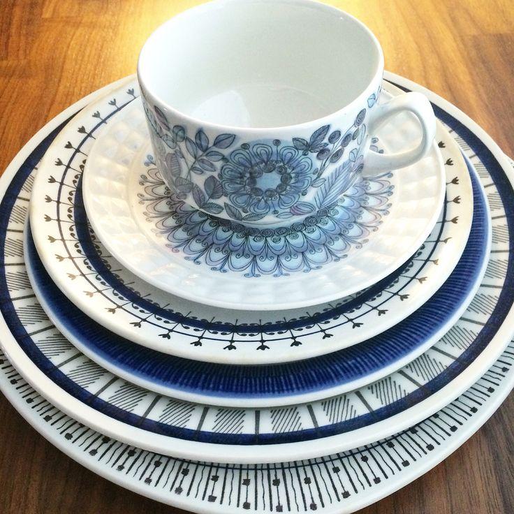 Vintage retro porcelain