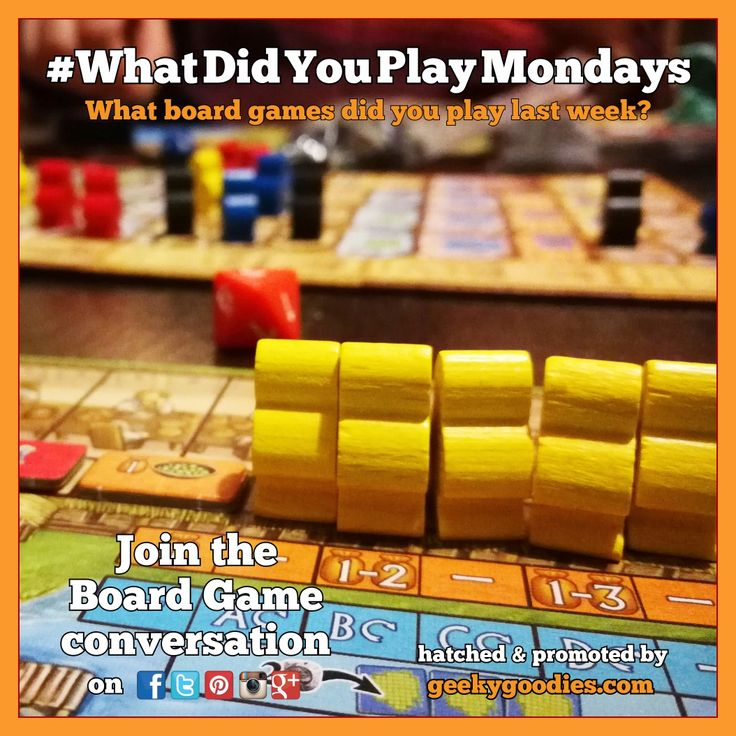 What Did You Play Mondays : What Board Games did you play this weekend and the previous week? Share your game plays on social media using #WhatDidYouPlayMondays  Board Game in photo: A Feast for Odin For more info about #WhatDidYouPlayMondays: https://www.geekygoodies.com/whatdidyouplaymondays