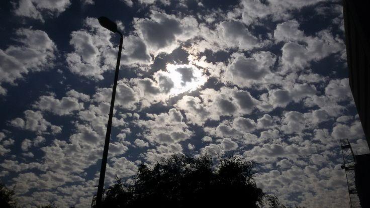 https://flic.kr/p/DmwUdk | sunlight & white clouds - Cairo, Egypt