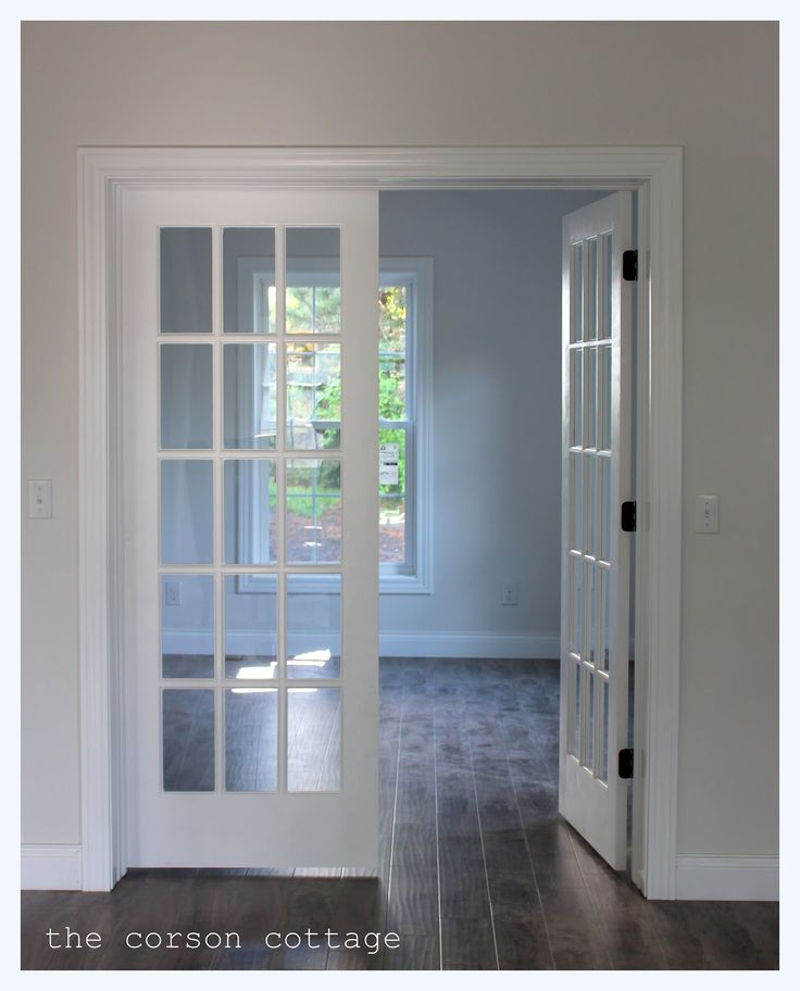 Prehung Double French Doors Interior