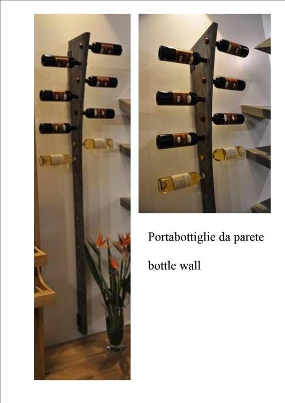 18 best dove metto le bottiglie di vino cantinette bottigliere images on pinterest - Portabottiglie a parete ...