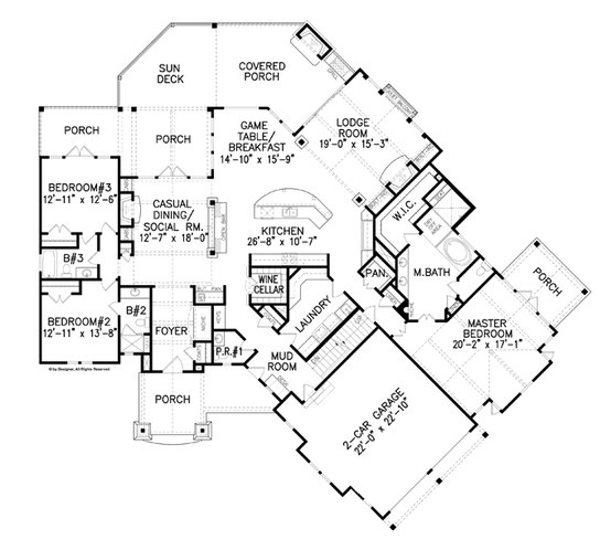 38 best floor plans images on pinterest floor plans for Best floor plan ever