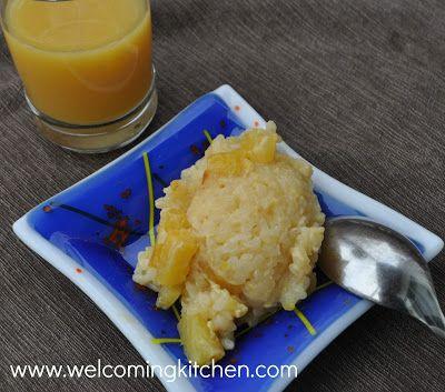 Hawaiian Rice Pudding #vegan #glutenfree #allergenfree