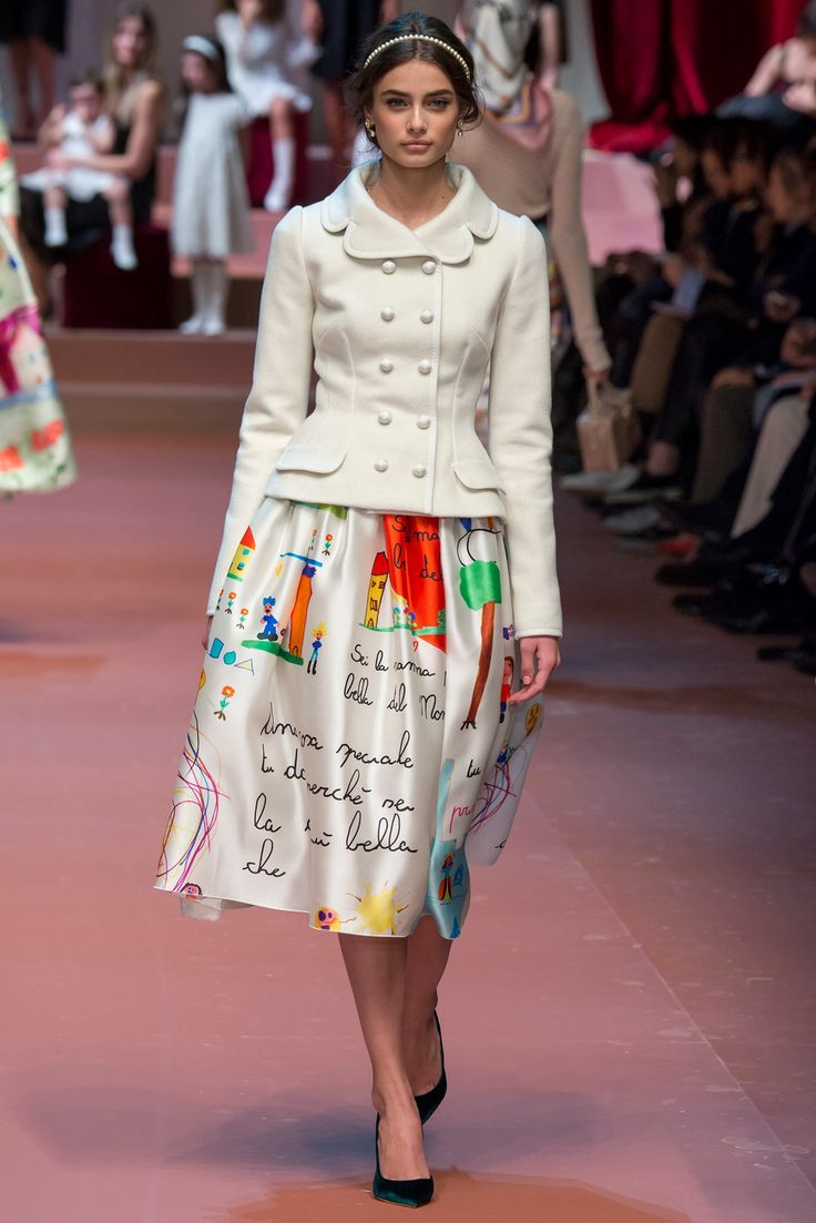 Dolce & Gabbana Fall 2015 Ready-to-Wear - Collection - Gallery - Style.com