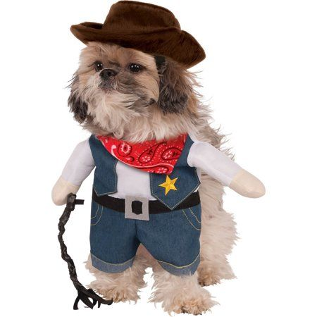 Party Occasions Cowboy Dog Costume Pet Halloween Costumes