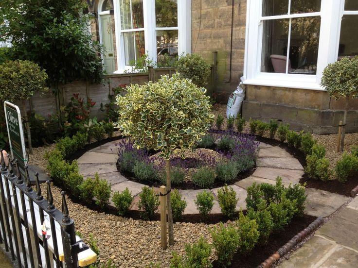 Gravel Front Garden Design