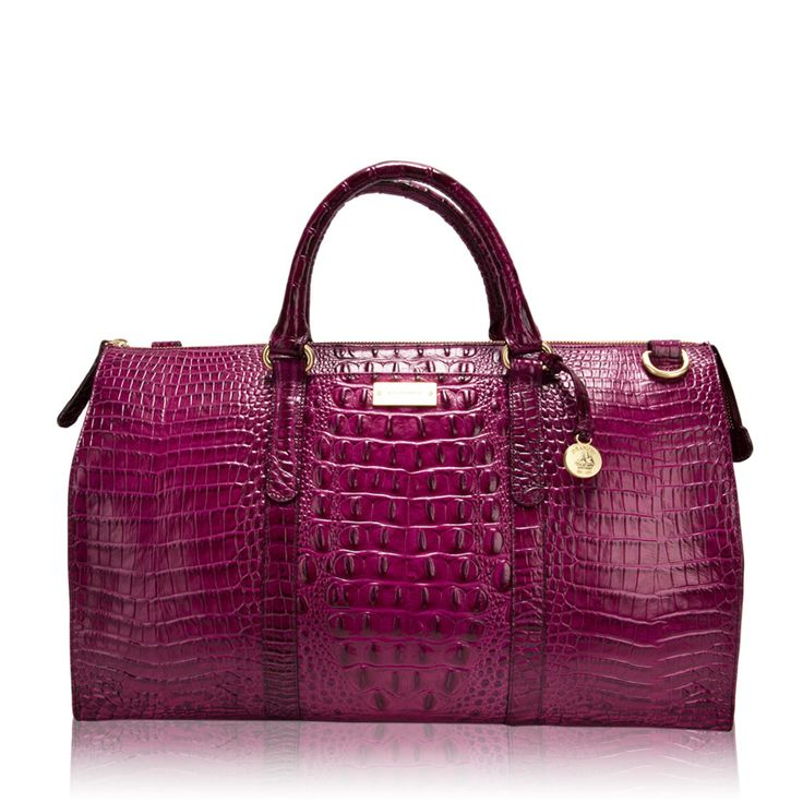 Brahmin Anywhere Weekender Tote... I would definitely go to the gym if I could tote my stuff in this!