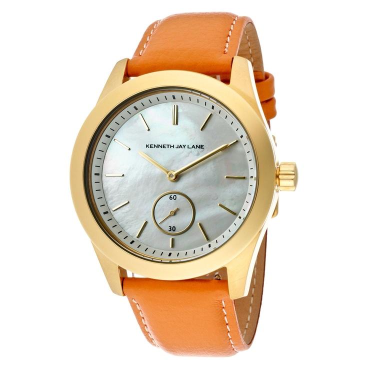 Presley Watch, orange band