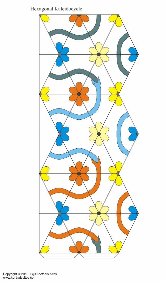 kaléïdocycle hexagonal