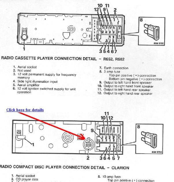 Clarion Stereo Wiring Diagram Car