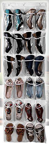 狭いスペースで たっぷり 収納 透明 吊り下げラック 靴や小物の 収納に 24ポケット 三四郎市場 http://www.amazon.co.jp/dp/B00J2L6SCC/ref=cm_sw_r_pi_dp_KSnOwb0H91VKY