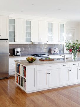 White Kitchen Home Design, Decorating, and Renovation Ideas on Houzz Australia