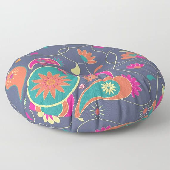Paisley floor pillowfloor cushionfloor pillow