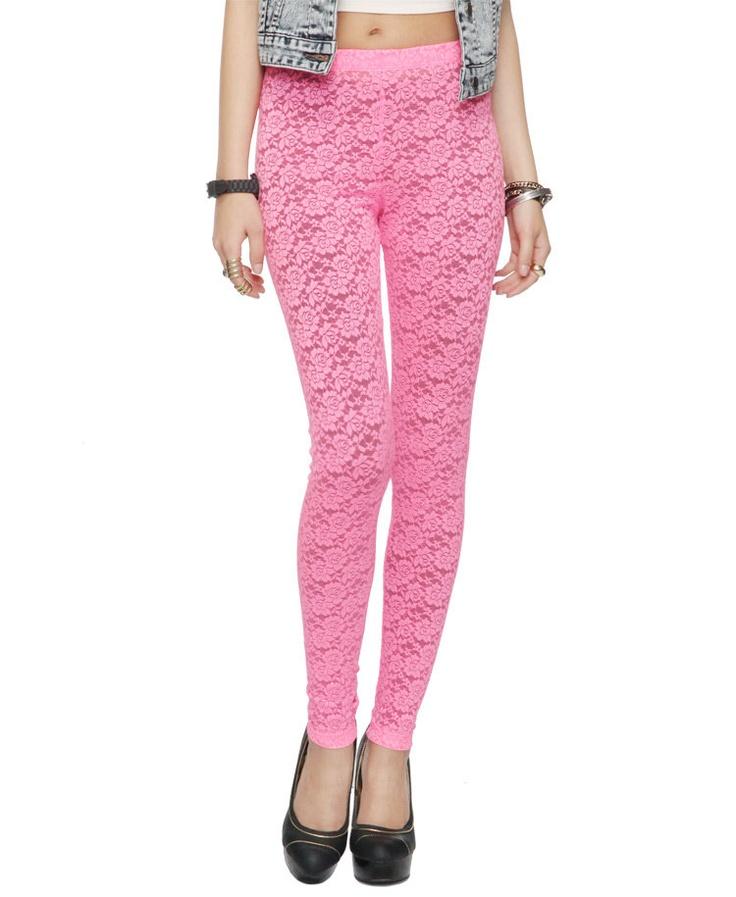 lace leggings cute