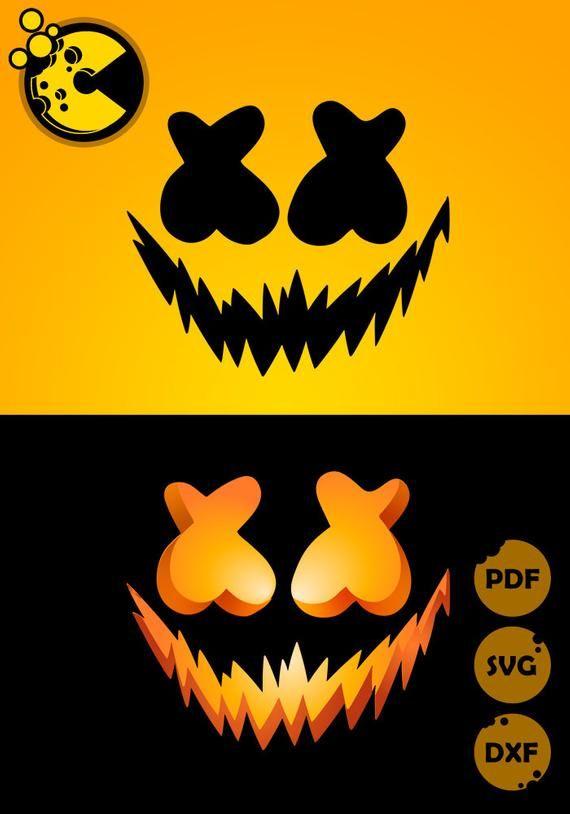 Marshmello Halloween 2020 SVG / PDF / PNG files marshmello halloween t shirt diy | Etsy in