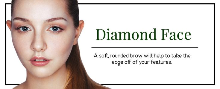 Eyebrow Shapes for Diamond Shaped Faces  Different Eyebrow Shapes