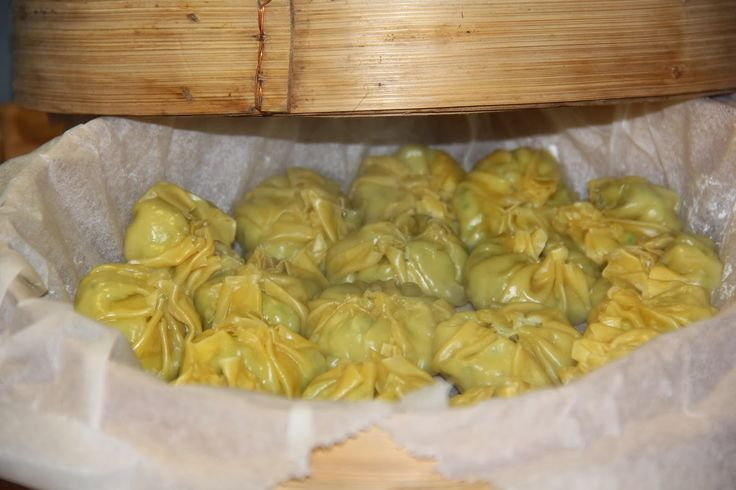 Dumplings met kip & krab