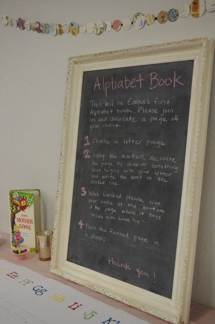 lil Mop Top: Build-a-Library Baby Shower!
