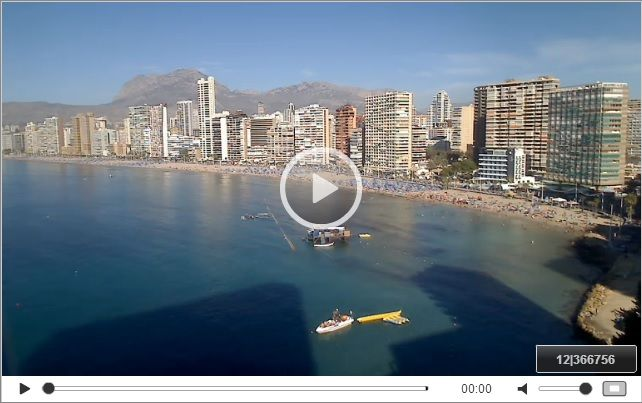 WEBCAM IN BENIDORM Rincón de Loix LIVE at http://www ...
