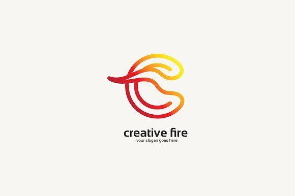 Creative Fire Logo Templates **cairon** creative **Creative Fire Logo**------------------------------------------------------- by cairon