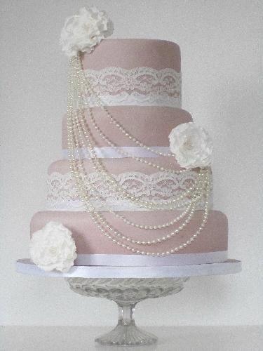Hollywood glam wedding cake - Google Search