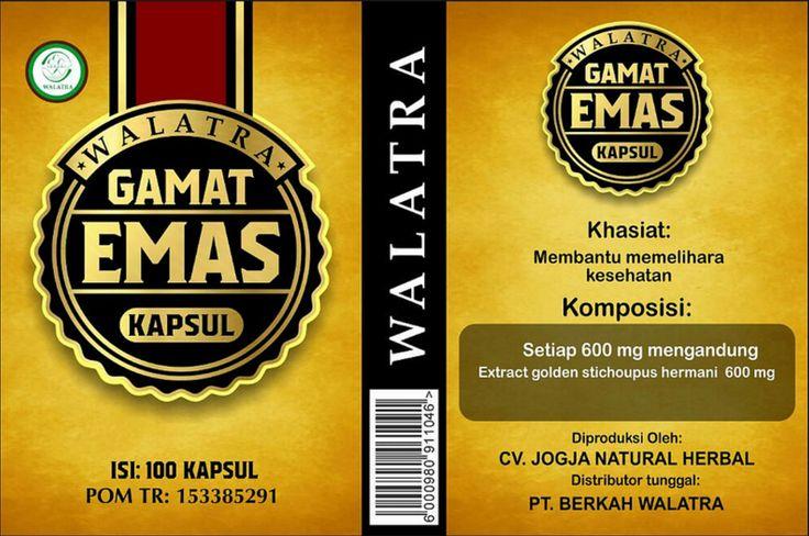 Khasiat Walatra Gamat Emas Kapsul,- Bagi anda yang ingin tahu khasiat apa saja di dalam Walatra Gamat Emas Kapsul . Anda mengunjungi website yang tepat. Disini kami akan memberikan informasi mengenai khasiat, harga dan cara pemesanan Walatra Gamat Emas Kapsul..