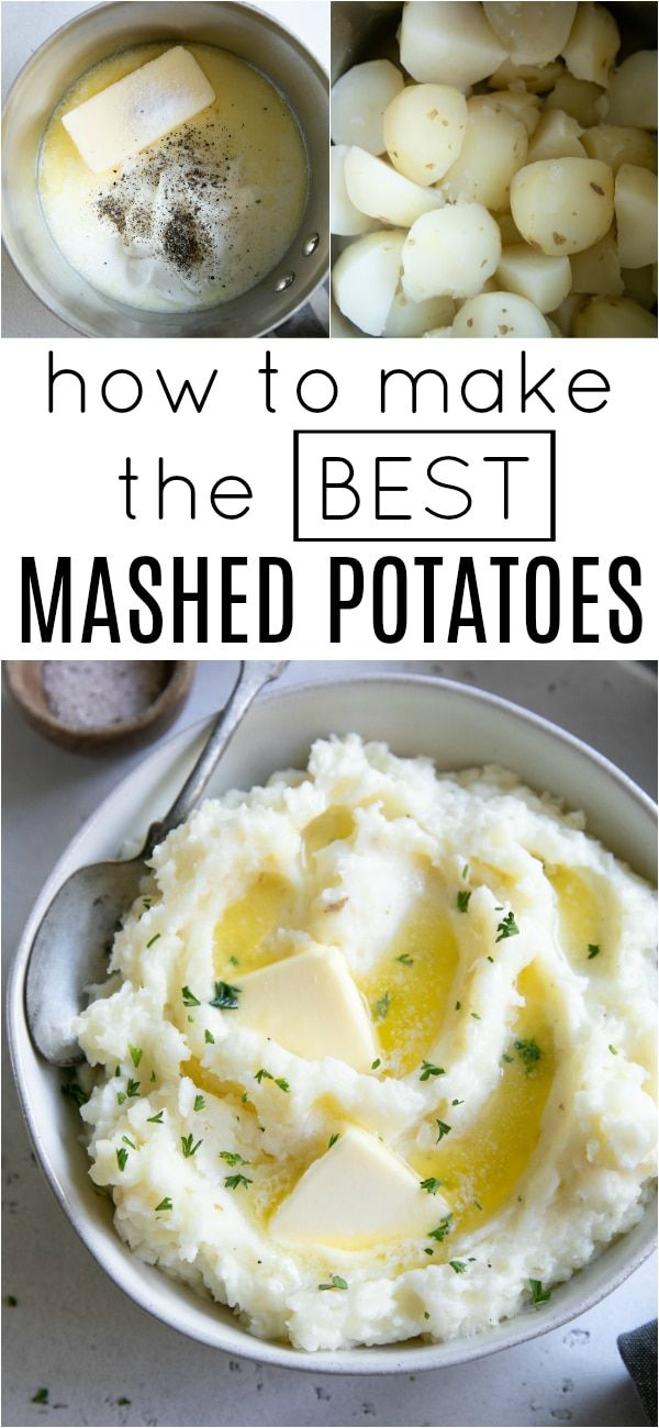 The Best Mashed Potatoes Recipe How To Make Mashed Potatoes Recipe Best Mashed Potatoes Mashed Potato Recipes Potatoes