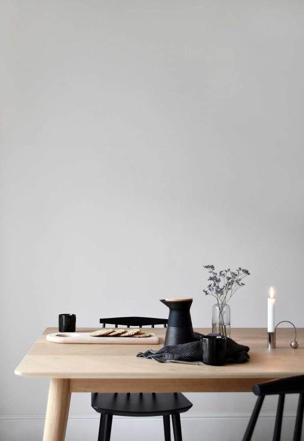 Pleasant My Minimalist Yet Warm Dining Room Makeover Skandi Download Free Architecture Designs Salvmadebymaigaardcom