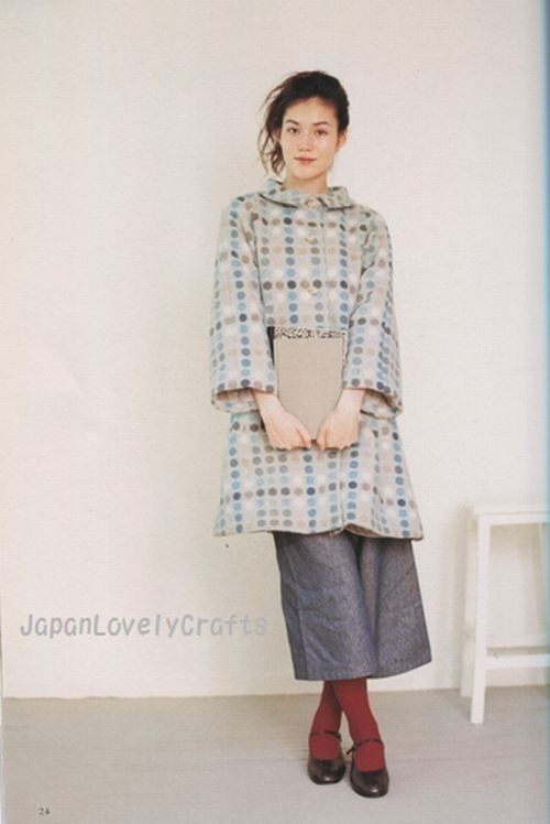 Daily Natural Clothes - Japanese Sewing Pattern Book for Women - Mayumi Maeda - B15. $24.80, via Etsy.