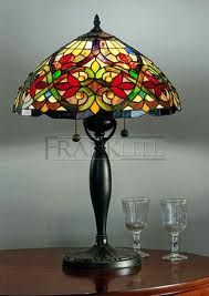 BURLESQUE TIFFANY TABLE LAMP