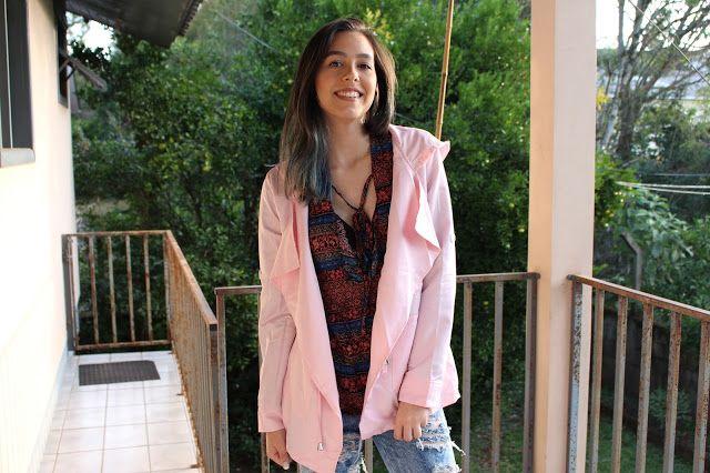Bruna Virgínia da Silva Casaco rosa / pink coat Nastydress