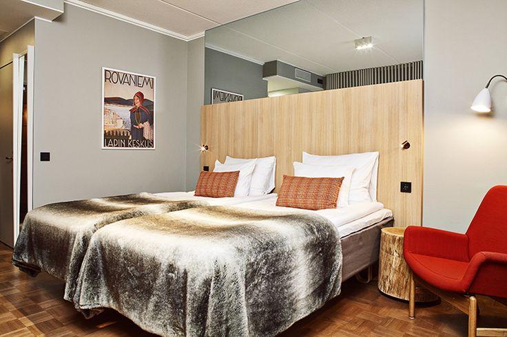 Original Sokos Hotel Vaakuna Rovaniemi | Sisustusarkkitehdit Fyra
