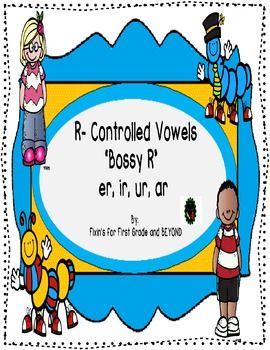 *Reinforce your instruction of the R-Controlled Vowels (er, ur, ir, ar).*5 worksheets! Answer sheets included! *Includes Crossword Puzzle, Unscramble, Roll and Color, Roll It, Write It, Draw It!*Combines learning & FUN!*Can be used for literacy centers, morning work, or anyway you choose!*Use for grades 1st through 3rd!*CCSS Standards included!Hope you enjoy!!