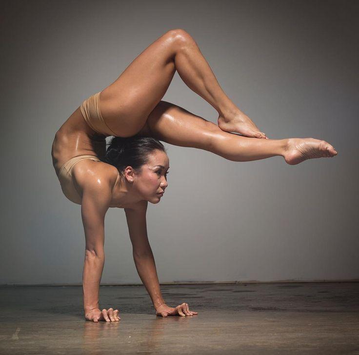 Those on! Gymnastics female anatomy poses