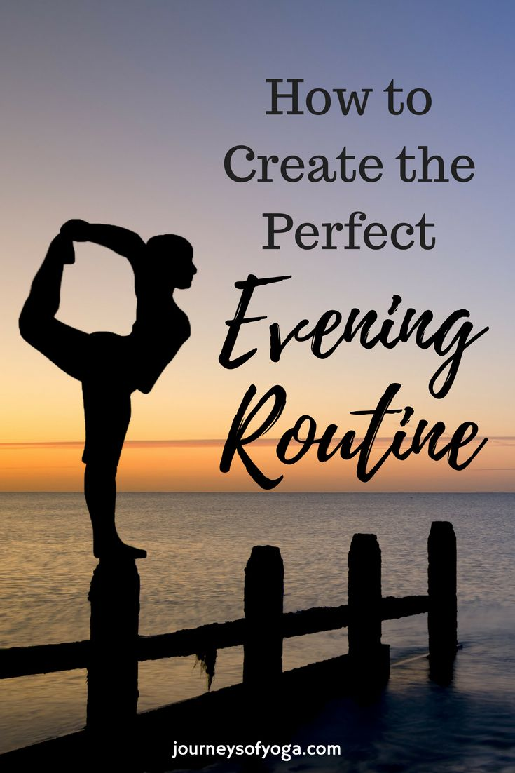 Everyone should have an evening routine. Read this post to get a ton of ideas on how to make your own and end your day in the best way possible!