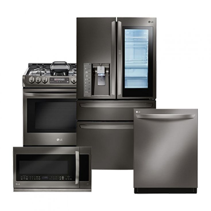 Beautiful 4 Piece Kitchen Appliance Package Home Depot #HomeAppliancesPackaging